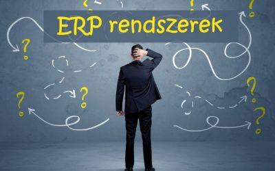 ERP rendszerek fejlődése